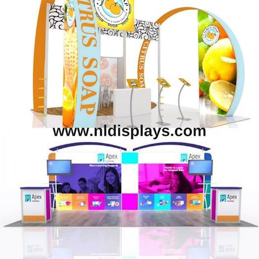 Next Level Displays: Trade Show Displays Booth