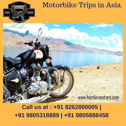 Motorbike Trips in Asia