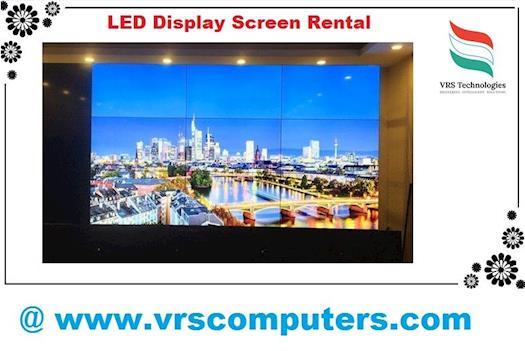 LED Display Screen Rental Dubai