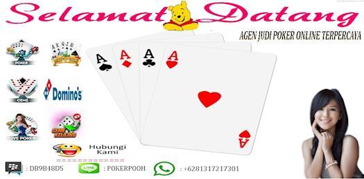 Agen judi poker online teraman dan terpercaya