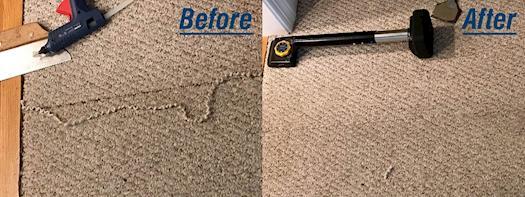 Torn Carpet Repair