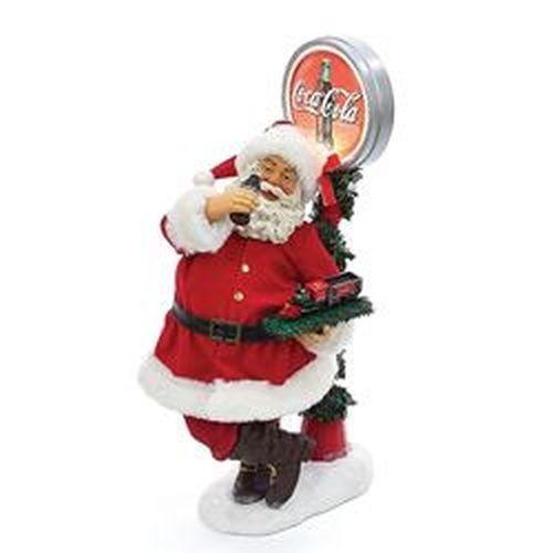 Kurt Adler Santa Figurines