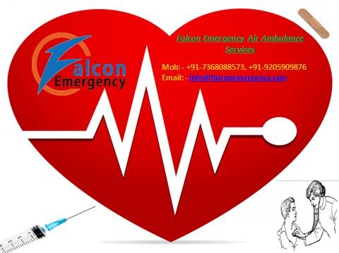 Falcon Emergency Air Ambulance Services in Varanasi