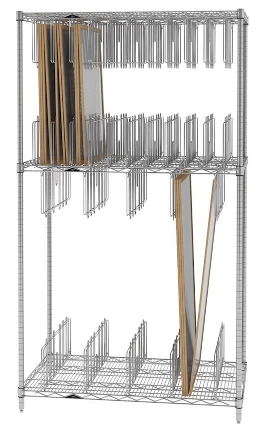 Stencil Storage/Drying Rack