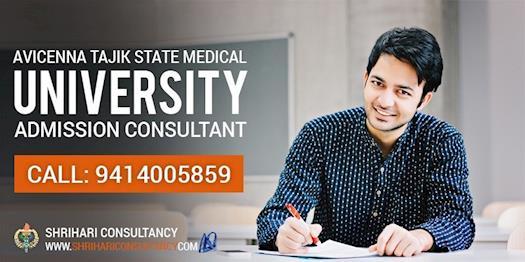 Avicenna Tajik State Medical University Admission - Shri Hari Consultancy