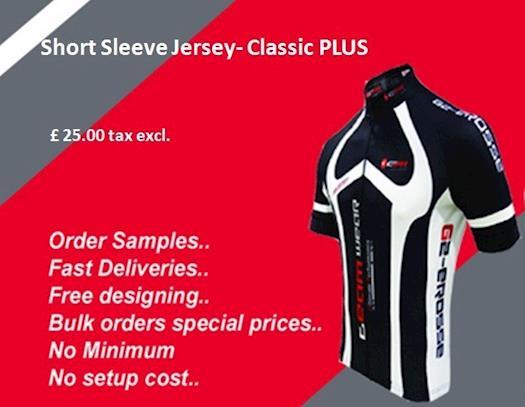 Short Sleeve Jersey- Classic PLUS