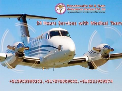 Panchmukhi Quickest Air Ambulance Services in Bhopal