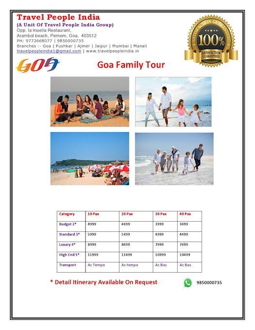 Goa Family Tour