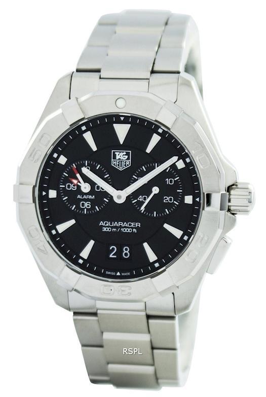 Tag Heuer Aquaracer Quartz Alarm 300M WAY111Z.BA0928 Mens Watch