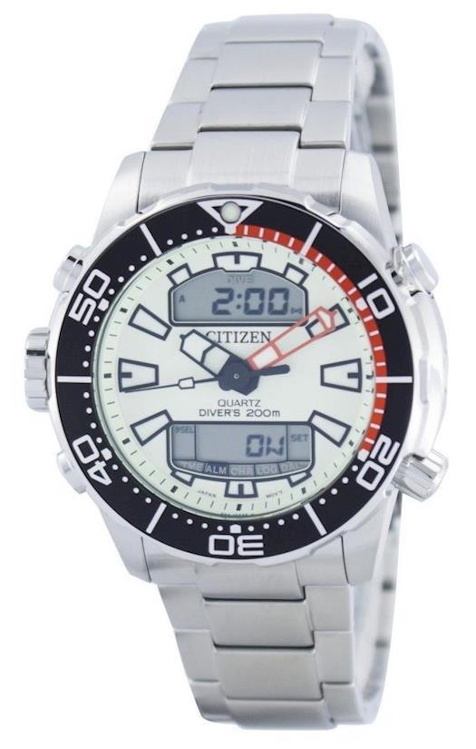 Citizen Aqualand Promaster Divers 200M Analog Digital Mens Watch