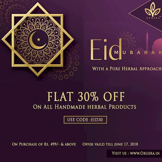 Eid Mubarak-orgera