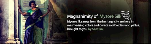Latest Mysore Silk Sarees Online