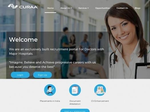 Hospital Recruitment Portal