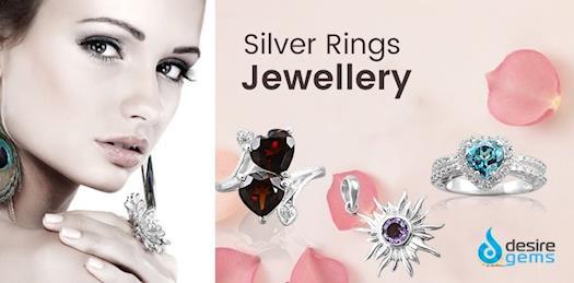 Sterling Silver Rings for Men & Women