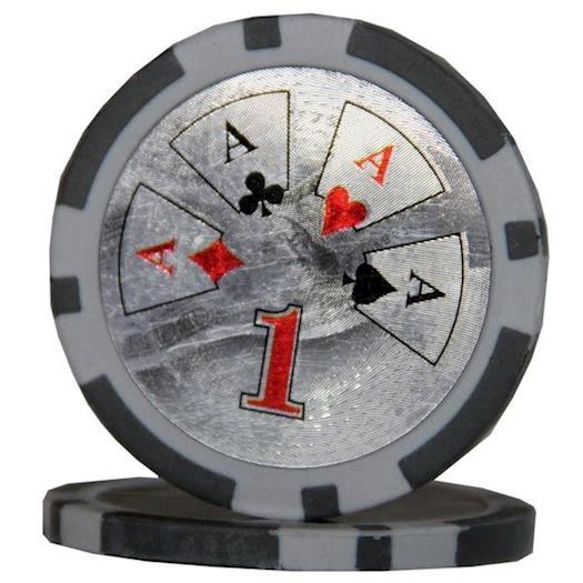 Ben Franklin Poker Chip 14 Gram