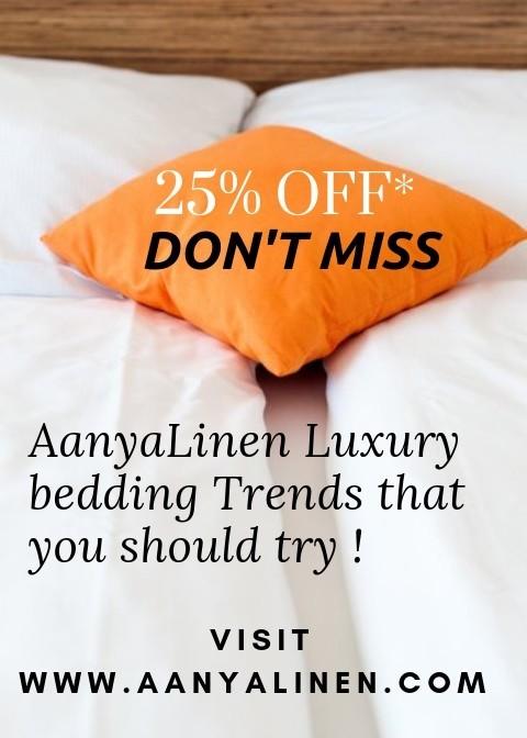 AanyaLinen - Luxury Bedding Partner