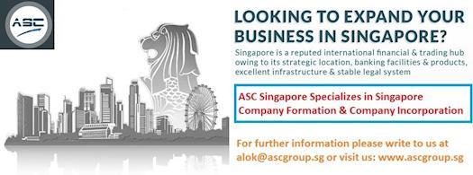 Singapore Company Formation & Company Incorporation – ASC Singapore