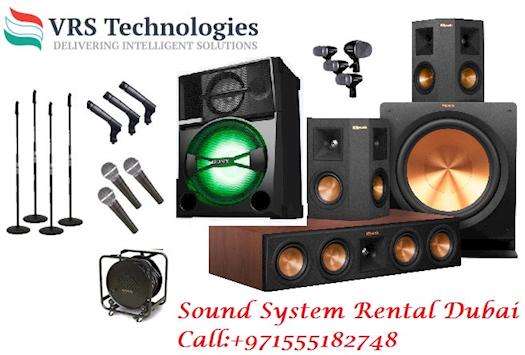 Speakers Rental Dubai | Speakers Rental | Sound for Rent in Dubai
