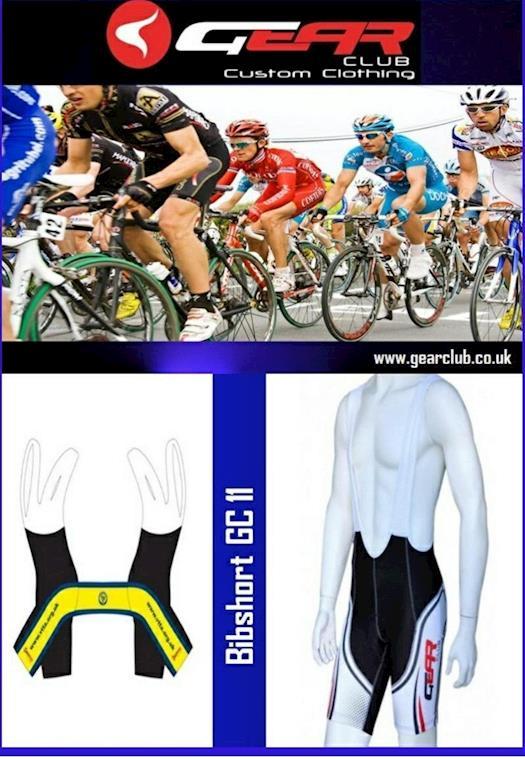 Custom Cycling Bib Shorts Online at Gearclub.co.uk