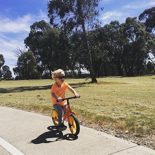 Toddlers balance bikes