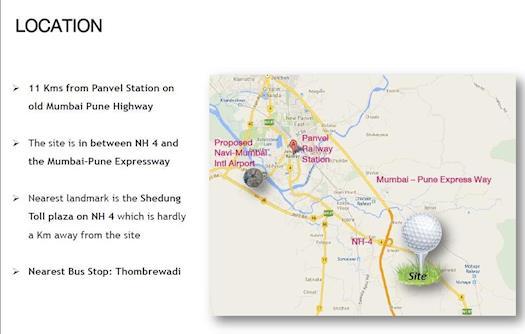 Godrej City Panvel Location - Amenities