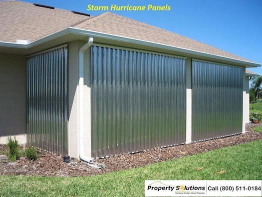 Storm Hurricane Panels South Florida