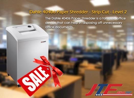 Dahle 40406 Paper Shredder