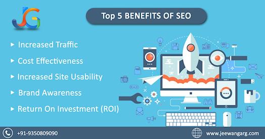 Top 5 Benefits of #SEO