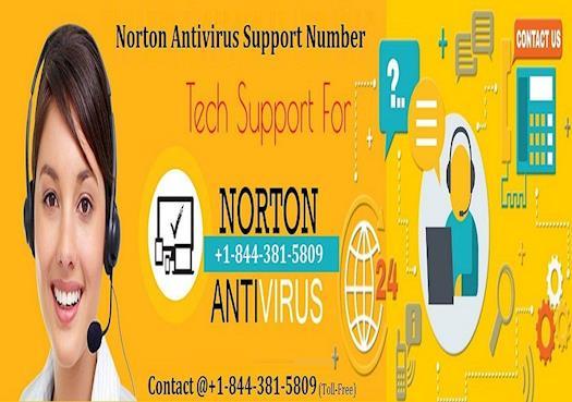 Norton Antivirus Support Number +1-844-381-5809 USA