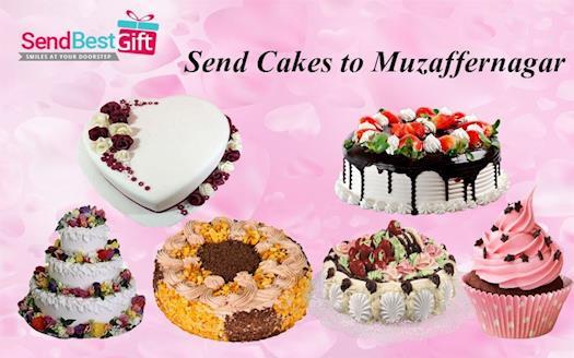 Send Cakes to Muzaffarnagar Online through SendBestGift