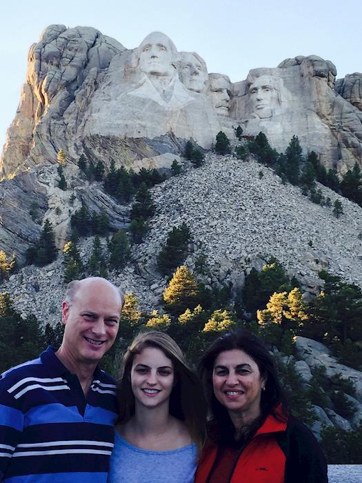 Don Pferdehirt at Mount Rushmore