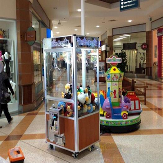 Claw Machine inside Mall