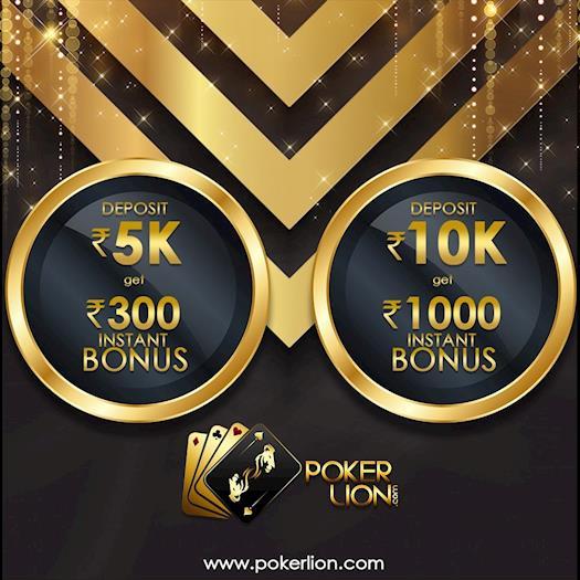 Play Poker Online and Get Instant Bonus
