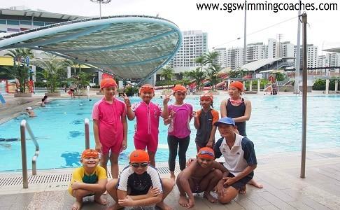Kids Swimming Singapore