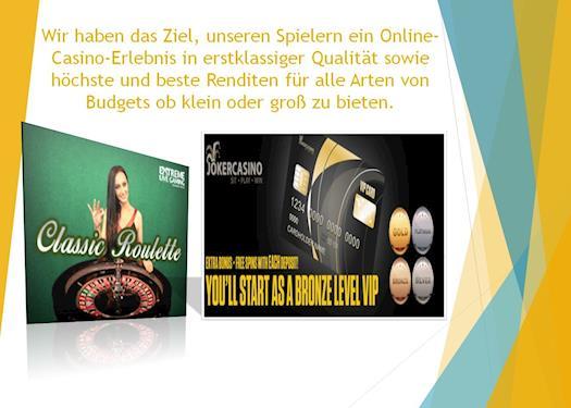 Casino Bonus ohne Einzahlung, Deutsche casino