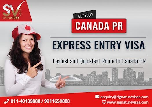 Canada Express Entry point calculator for Canada PR