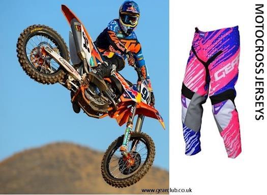 Custom Motocross Jerseys UK
