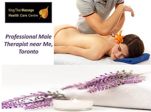 Professional Male Therapist near Me, Toronto