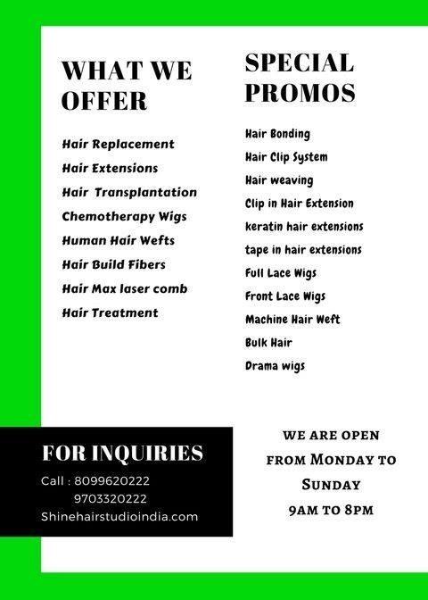 Shinehairstudio Offers