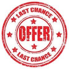 Last Chance!!