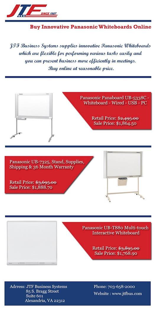 Buy Innovative Panasonic Whiteboards Online