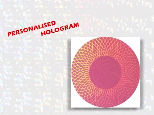 Personalised Holograms