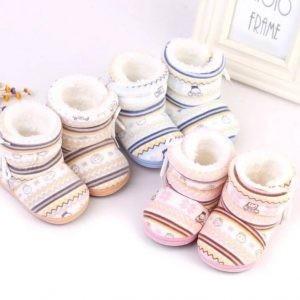 Newborn Baby Plush Boots