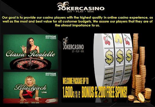 Mobile Casino, Joker, Joker Casino,  Australian Casino