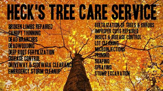 hecks lawn care tree service of wichita