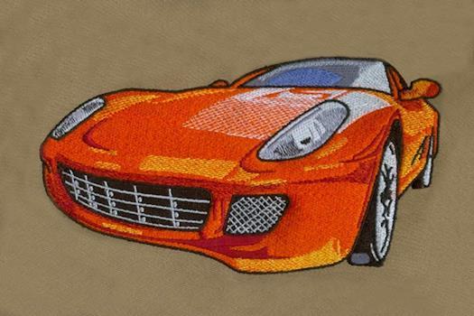 Car Embroidery Design - DigitEMB