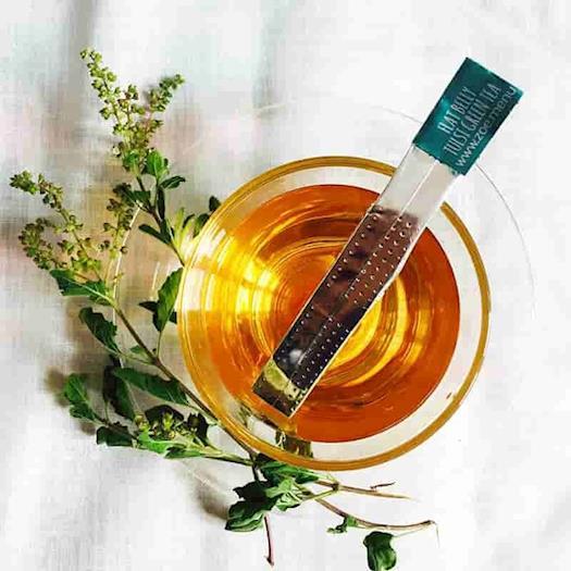 FLAT BELLY TULSI GREEN TEA