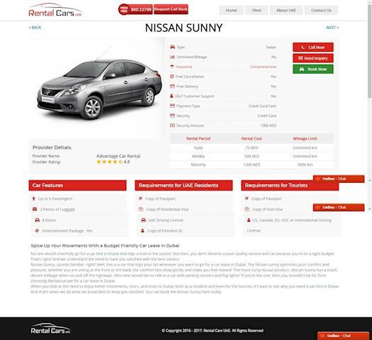 Car Rental Dubai