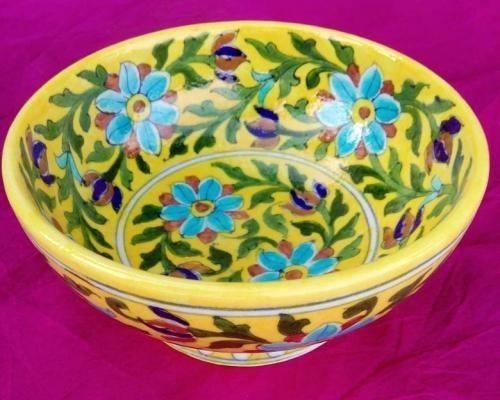 Beautiful blue pottery Bowl
