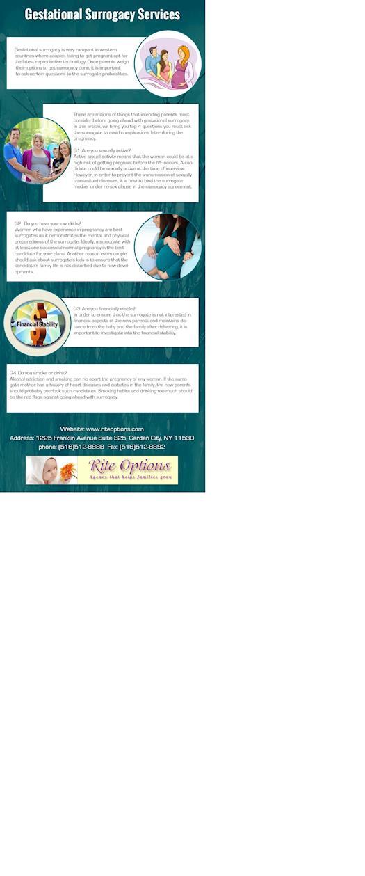 Gestational Surrogacy Services